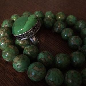 Jewelry - Mohave Green Turquoise Ring